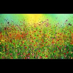 'Your eyes are full of golden hooks and silken threads' by Yvonne Coomber   ~ my Sister has a couple of her paintings, one of which is very similar to this :)