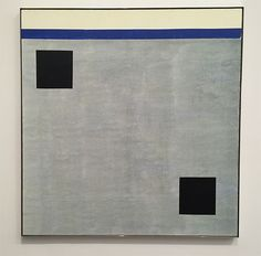 Agnes Martin at Tate Modern installation shot