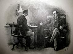 Sherlock Holmes and John Watson - Paget Book Illustration 6135 by Brechtbug, via Flickr
