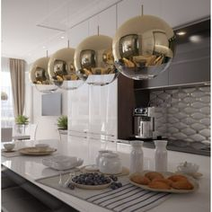Kitchen Aid Mixer, Kitchen Appliances, Kitchens, Ibiza, Ceiling Lights, Home Decor, Gold, Kitchen Ceiling Lights, Kitchen Ceilings