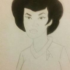 Lt. Uhura Star Trek Filmation Series 1.1#filmationcartoonsfanart