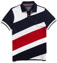 6a88286059 Tommy Hilfiger CUSTOM FIT PIECED POLO Camisa Polo