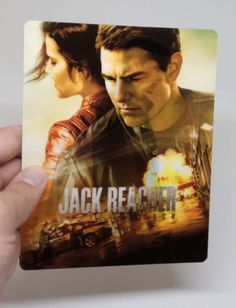 Jack Reacher Never Go Back 3D lenticular Flip effect for Steelbook