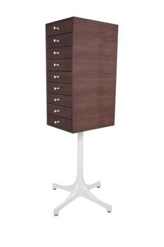 First mid century modern jewelry box I've seen - 619.00 --Swag Leg Jewelry Chest by Control Brand on @HauteLook