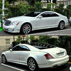Maybach Coupe, Mercedes Benz Maybach, Mercedes Sport, Bmw Sport, Lux Cars, Bugatti Cars, Classic Mercedes, Power Cars, Custom Cars