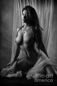 Necessary the Black and white fine art erotic