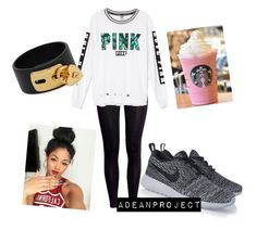 """"""""""" by twochainzfoever on Polyvore featuring H&M, NIKE and Valentino"""