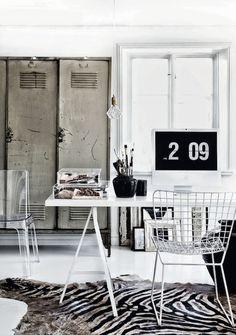 home office inspiration via fashionsquad.com