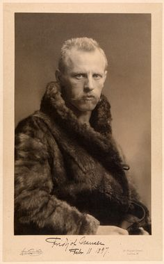 """Fridtjof Nansen, Polar Explorer, 1897"""" I searched for """"Egyptian Plover"""" and this guy came up. Maybe he spent some time cleaning teeth."""