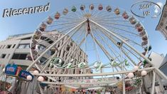 Villacher Kirchtag 2019 Riesenrad 360° VR Onride Kirchen, Ferris Wheel, Fair Grounds, Travel, Villach, Viajes, Trips, Tourism, Traveling