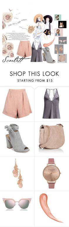 """""""Pink is always in"""" by nadinazoletic ❤ liked on Polyvore featuring Finders Keepers, Fleur of England, Kristin Cavallari, Deux Lux, Avon, Olivia Burton and Fendi"""