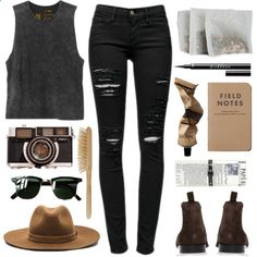 Untitled #90 by angheets-closet on Polyvore featuring polyvore, fashion, style, RVCA, Frame Denim, rag & bone, Ray-Ban, Paul Smith, Givenchy, Aesop and HAY