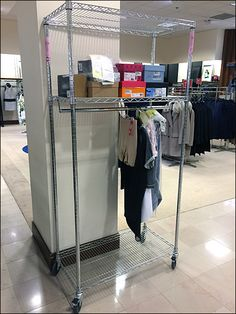 Metro Transport Cart Hang Rod Add-On Overall