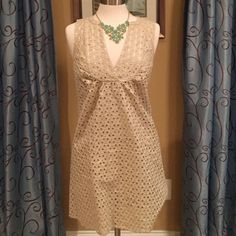 Michael Kors dress Perfect condition - lined and sleeveless with a gold overlay MICHAEL Michael Kors Dresses Prom