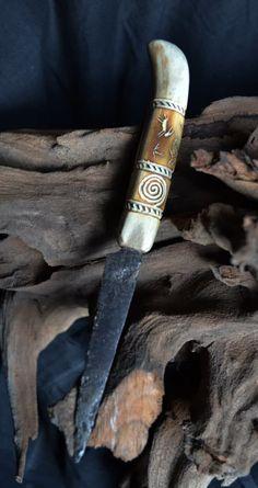 Deer Horns, Antlers, Roe Deer, Knife Handles, Bone Carving, Weapons, Bones, Great Gifts, Craft