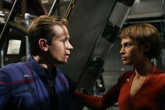 Trip and T'Pol