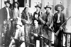 Members of the posse that killed Ned Christie posing with his corpse in November 1892 Dalton Gang, Old West Outlaws, Cherokee Nation, Fort Smith, American Frontier, Le Far West, Going Home, Wild West, Old Photos