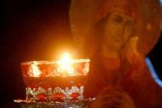 When the Orthodox Christian prays