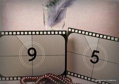 Film reel 1920s Hollywood movies vintage by CobblestoneInvites, $3.95