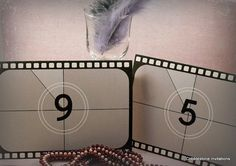 Film reel 1920s Hollywood movies vintage by CobblestoneInvites, $3.95
