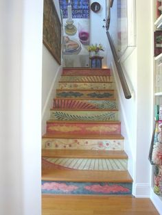 The Friendly Home: Staircase Makeover