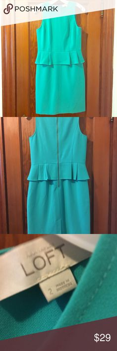 Loft dress Posh purchase I never wore. No defects. Very comfortable and versatile. Smoke free home bundling available. No trades LOFT Dresses Midi