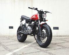 Yamaha Scorpio 'The Red Tracker' - Studio Motor - Racing Cafe