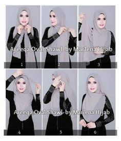 """#headscarved woman in Arabic,"" by purpellips ❤ liked on Polyvore featuring moda"