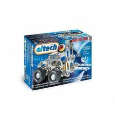 Eitech C51 - Wózek Widłowy Zabawka z metalowych Klocków Konstrukcyjnych od 6 lat. Zestaw Eitech C51 zawiera: blaszki, śrubki, zestaw narzędzi do skręcania