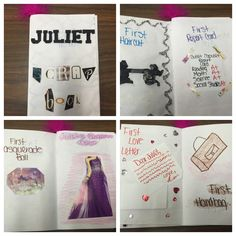 romeo and juliet character diaries school activities romeo juliet characters education school. Black Bedroom Furniture Sets. Home Design Ideas