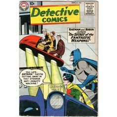 Detective Comics #263. Vol1. DC Jan 1959. Batman. Martian Manhunter. VG
