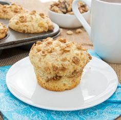 Walnut Streusel Muffins - think these would be delicious with maple extract added to the batter!