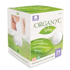 Organyc Organic Nursing Disposable Pads. Your baby and you deserve the best. You want a pad that is soft and gentle. We know you have concerns about what pad to use and you are worried about leakage, but have you considered the benefits of organic cotton breast pads? Not only are Organyc organic cotton breast pads are naturally absorbent, breathable and amazingly comfortable, but they are hypoallergenic. Your skin deserves the best.
