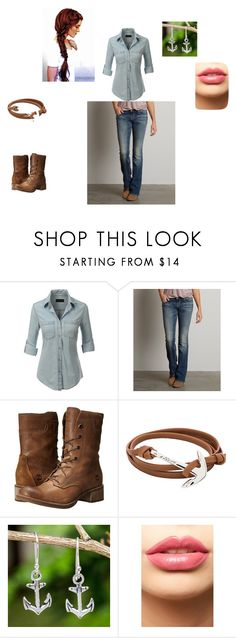 """""""Farm"""" by pantherldy on Polyvore featuring LE3NO, Buckle Black, Timberland, MIANSAI, NOVICA and LASplash"""