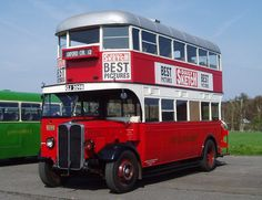 1930 AEC Regent I bus is the sole survivor of a Tilling ST with open… Train Truck, Tow Truck, Fire Trucks, London Bus, London Transport, Public Transport, Richard Branson, Bus Art, Routemaster