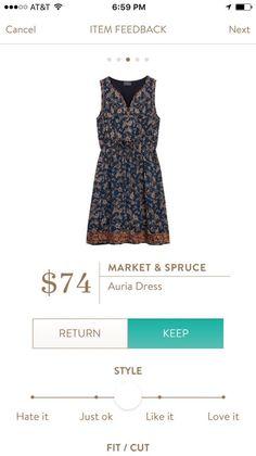 Market & Spruce Auria dress - so pretty!