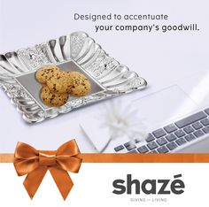 An organization is driven by success and the people who create it. And it's imperative that your partners or employees be rewarded for their commitment.  A gift in the form of this exquisite Silver Plated Tray will definitely strengthen your bonds and create goodwill for your organisation. For more gifting options visit www.shaze.in