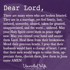 Prayer for womens....