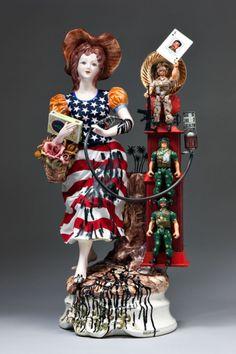 "Penny Byrne Is A Ceramics Conservator Who ""Damages"" Ceramics"