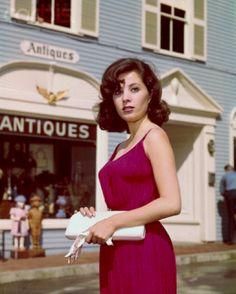 modbeatnik:    Barbara Parkins as Betty Anderson for Peyton Place, 1960s