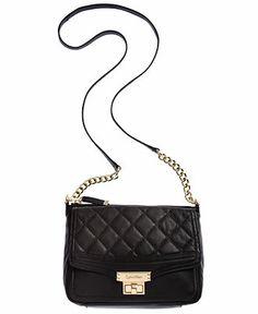 Calvin Klein Handbag, Fermo Leather Crossbody - Crossbody & Messenger Bags - Handbags & Accessories - Macy's