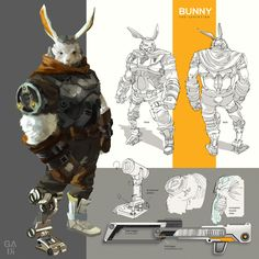 Bunny, Mohamed Gadi on ArtStation at https://www.artstation.com/artwork/bunny-d1bf17e8-aa2e-42c1-87f6-9dee6ee9de74