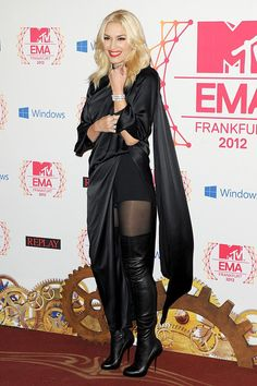 Todas las fotos de los premios MTV EMA 2012: Gwen Stefani