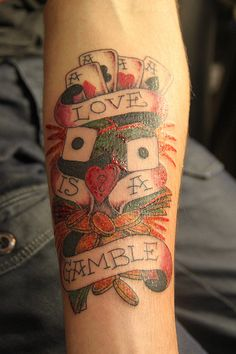love is a gamble, Ed Hardy design