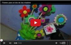 Lavoretti festa della mamma: Vaso di fiori