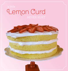 Lemon Cake with Coconut Cream Cheese Frosting