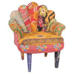 Peacock Arm Chair VI // bohemian. ornate. exotic.