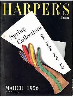 British Harper's Bazaar  March 1956