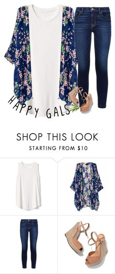 """""""Group Icon!"""" by lovelyelegantgirl ❤ liked on Polyvore featuring Gap, Hudson, Schutz and Nails Inc."""