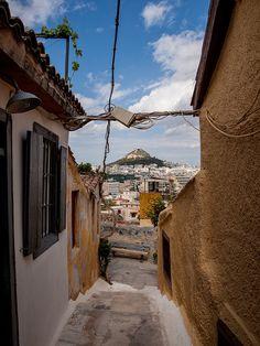 θέα από την Πλάκα, Αθήνα- view from Plaka, Athens, Greece